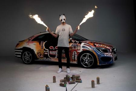 ¿Mercedes compite también con BMW en la categoría Art Car?