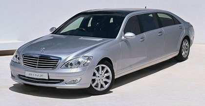 Mercedes Clase S Limusina