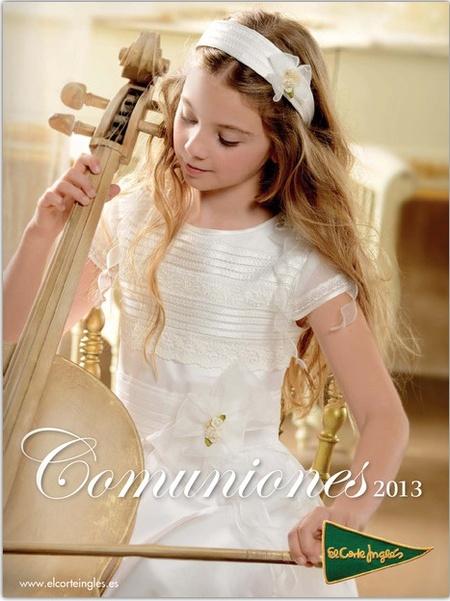 El catálogo de Primera Comunión de 2013 en el Corte Inglés
