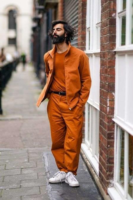 El Mejor Street Style De La Semana El Naranja Se Impone Como El Color De Transicion De Temporada 06
