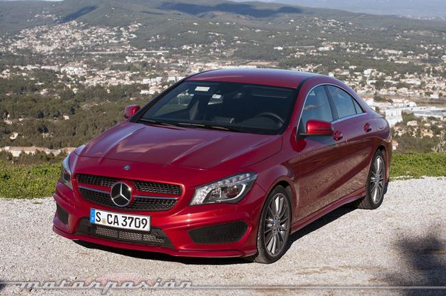 Foto de Mercedes-Benz Clase CLA (presentación) (40/40)