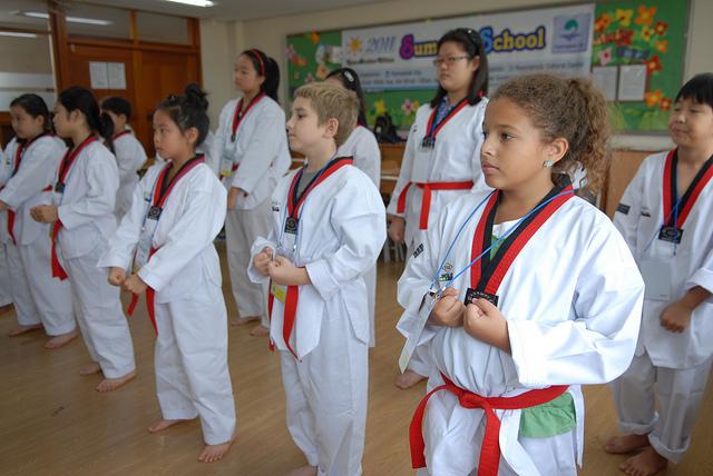 Actividades extraescolares, judo