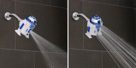 Star Wars Showerhead Darth Vader R2 D2 13