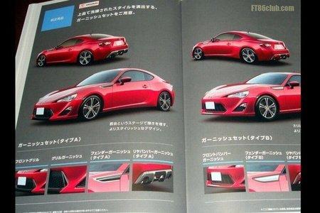 Catálogo del Toyota FT-86