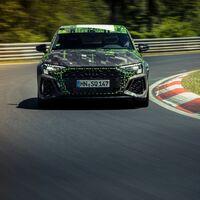 El Audi RS 3 Sedán rompe un récord y se convierte en el compacto más rápido de Nürburgring