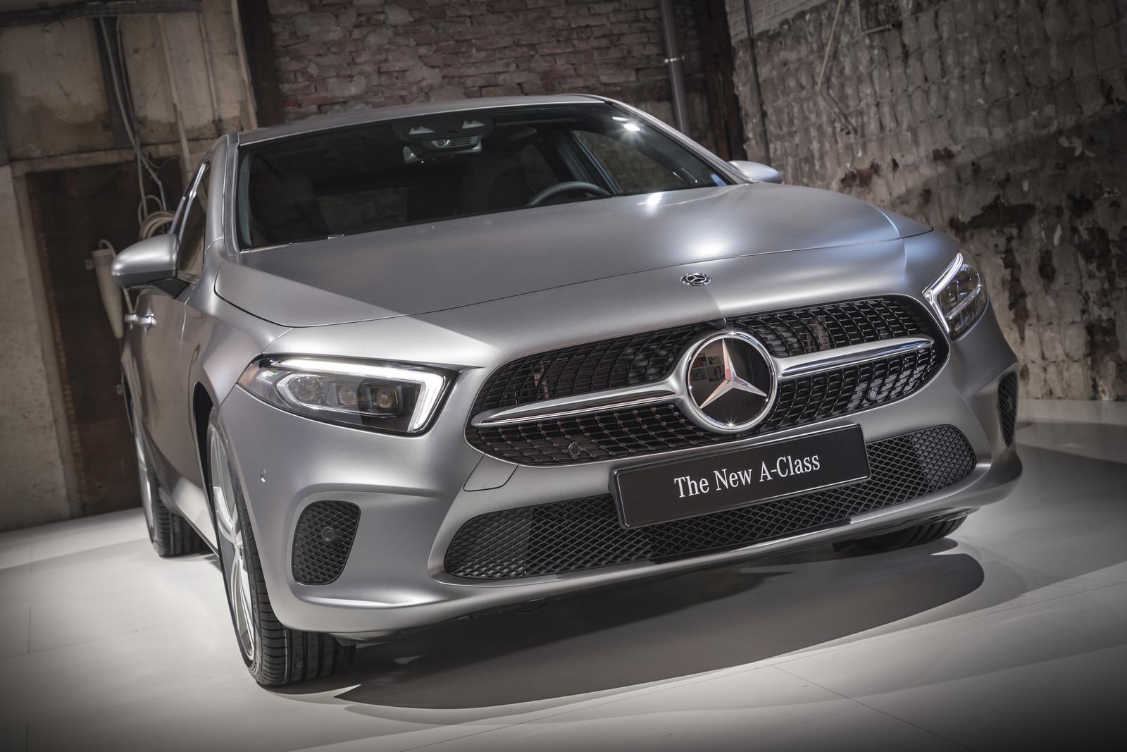 Foto de Mercedes-Benz Clase A 2018 - presentación (13/114)