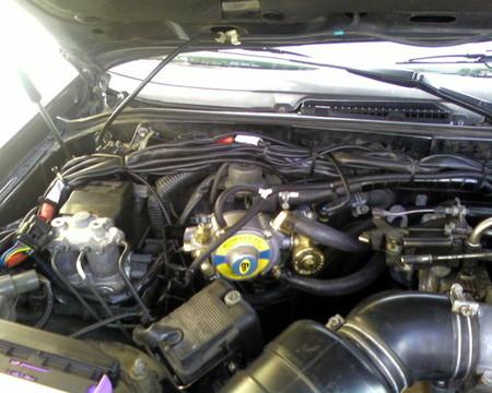 Toyota Supra propulsado por GLP