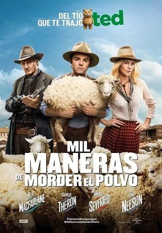 'Mil maneras de morder el polvo', tráiler final y cartel español de lo nuevo de Seth MacFarlane
