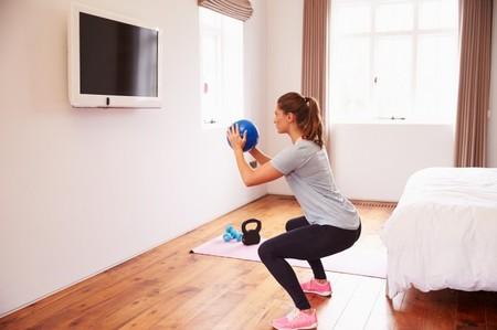 entrenamiento en casa