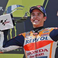"""Marc Márquez: """"Ha sido un GP muy difícil, así que he asegurado el segundo. Era el día de Dovi"""""""
