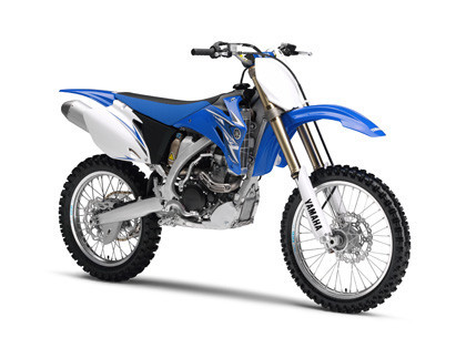 Primera imagen de la Yamaha YZ250F de 2009