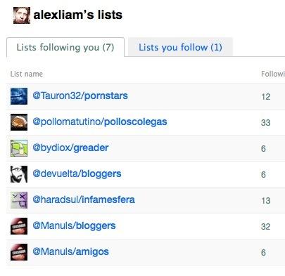 Twitter empieza a permitir el uso de listas entre sus usuarios