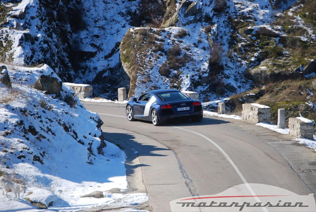 Audi R8 4.2 FSI R tronic (prueba)