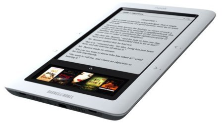 Nook, un lector de libros electrónicos barato y muy atractivo