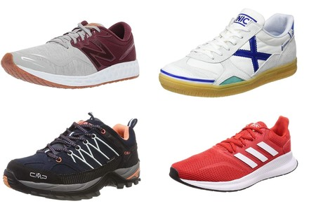 Chollos en tallas sueltas de zapatillas New Balance, Adidas o Munich en Amazon