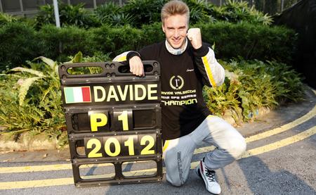 Davide Valsecchi se corona en Singapur como campeón de la GP2 2012