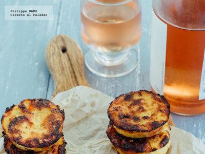 Muffins de cheddar y tocino. Receta