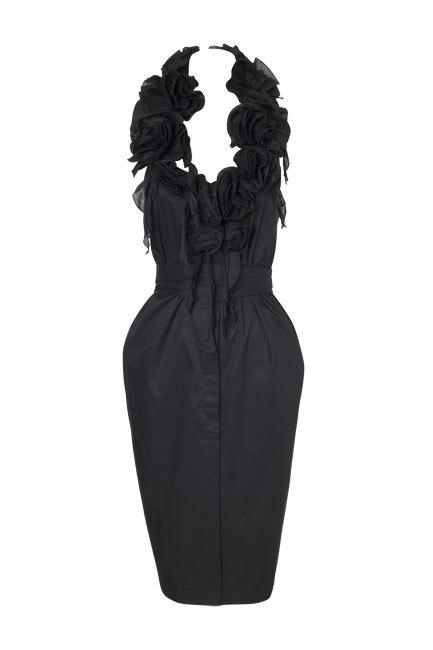 Foto de Vestidos negros Etxart &Panno Otoño-Invierno 2010/2011: el color que nunca falla (3/10)