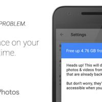 Cómo liberar espacio con Google Fotos para Android