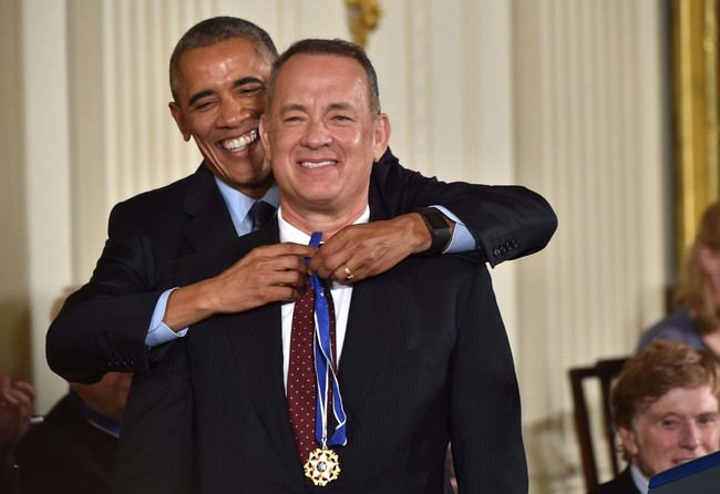 Barack Obama Tom Hanks