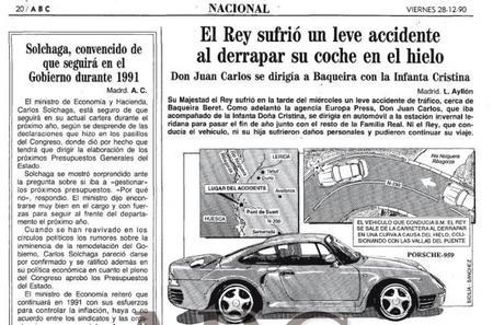Dolorpasión™: año 1990, S.M el Rey Don Juan Carlos y un Porsche 959