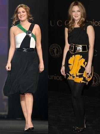 Drew Barrymore de Gucci: ¿qué vestido le sienta mejor?