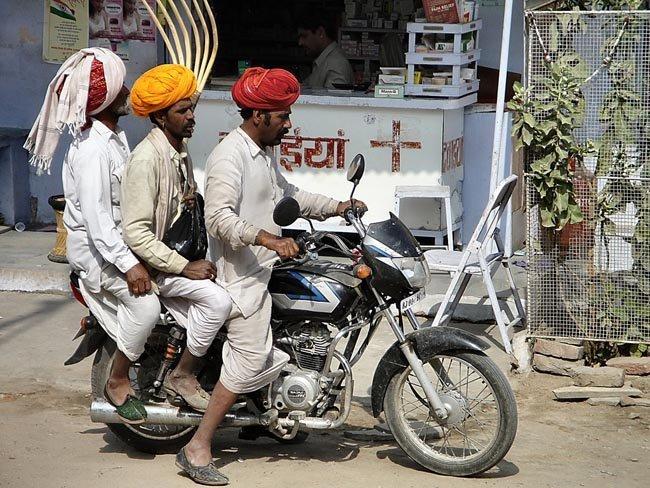 Moto en India