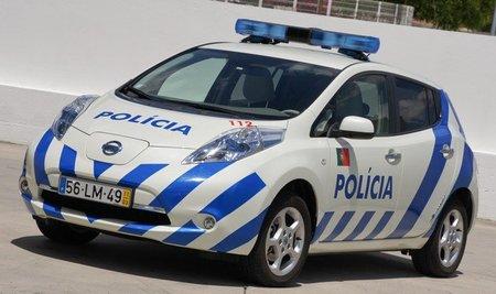 Nissan LEAF para la Policía de Portugal
