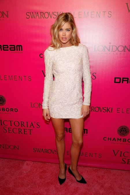 Doutzen Kroes Victorias Secret fiesta