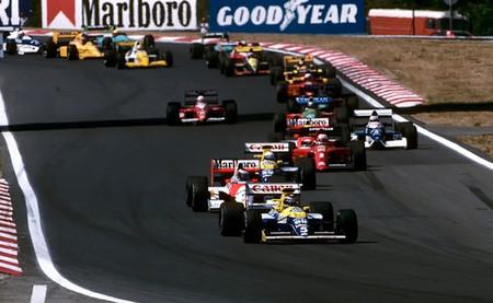 Salida GP Hungría 1990
