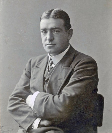 Ernest Shackleton Studio Portrait