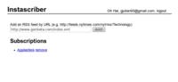 Instascribe, envía los elementos de un RSS directamente a tu cuenta de Instapaper