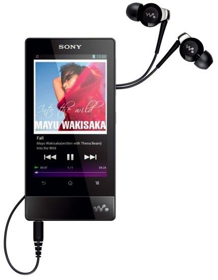 Sony Walkman continúa en la buena línea del diseño