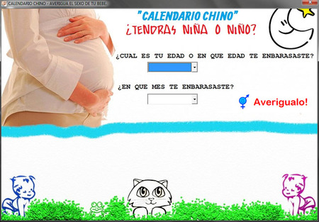 """Calendario chino 1.0"": un programa para PC en el que consultar la tabla china"