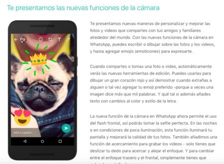 WhatsApp para iPhone se apunta a la moda de garabatear en las fotos en su última versión