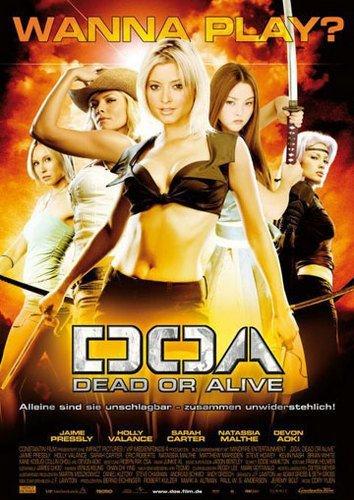 Maravillosos posters de Dead Or Alive: The Movie