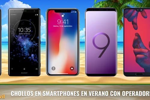 Las mejores ofertas en móviles baratos con operador en verano 2018