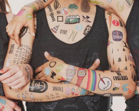 Los tatuajes temporales Tattly  llegan a España: calcomanízate