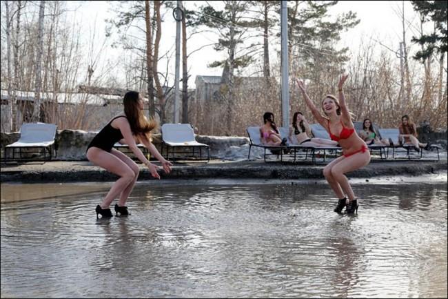 Chicas Rusas Protesta
