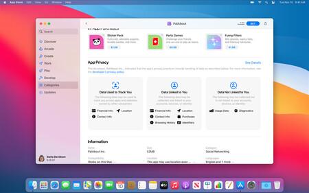 App Store Privacidad