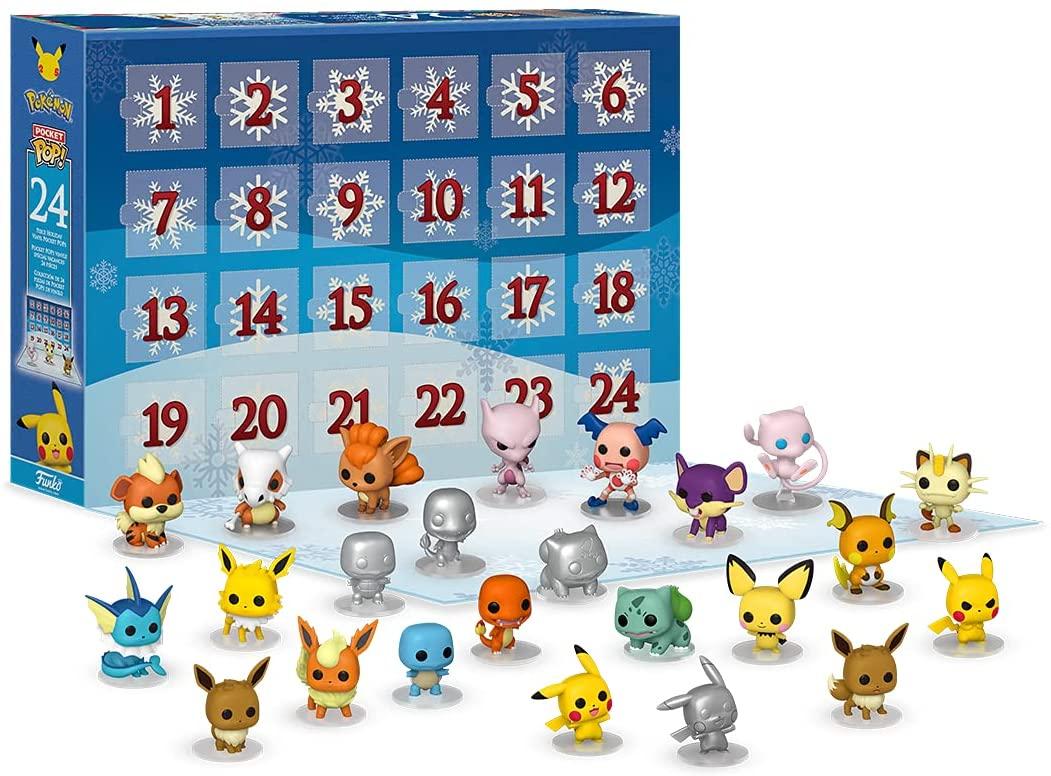 Preventa: Calendario de adviento Funko POP de Pokémon - 2021