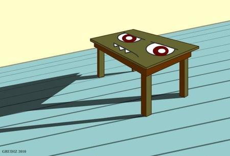 Bienvenido, ahí está tu mesa