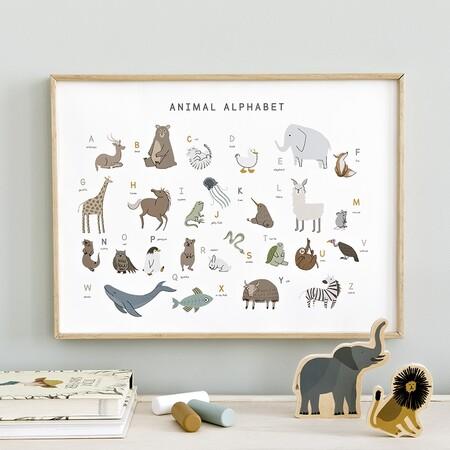 Animal Alphabet Lamina