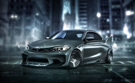 El BMW M2 de Batman