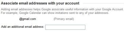 Asocia tu dirección de correo a la cuenta de Google