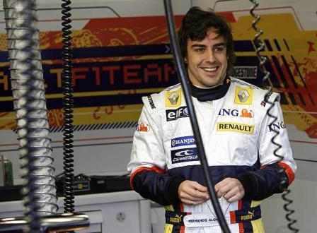 Fernando Alonso podría descansar hasta 2009