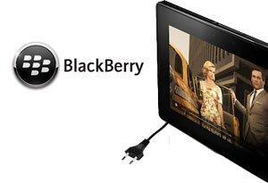 BlackBerry PlayBook retrasado por problemas de batería
