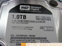 Disco duro Western Digital de 1 TB con interfaz SATA 6 Gbps