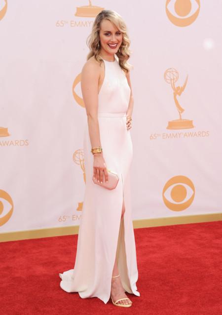 Taylor Schilling sandalias Emmy 2013