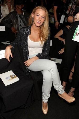 Blake Lively, Madonna y otras famosas en los distintos front row de la Semana de la Moda de Nueva York